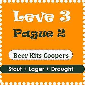Promoção Coopers - Leve 3 e Pague 2 (Stout + Lager + Draught)