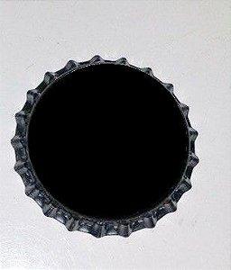 Tampinhas Pry Off - 100un - cor preta com saia