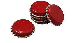 Tampinhas Pry Off - 100un - cor vermelha com saia