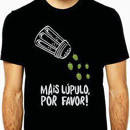 Camiseta Mais Lúpulo Por Favor-GG