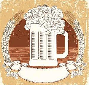 Arte de Rótulo para Cerveja Artesanal - 858