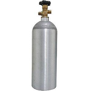 Cilindro de CO2 e N2 em alumínio 1,3kg / 2,5lb