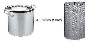 Panela de Inox X Panela de Alumínio