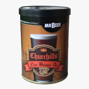Beer Kit Mr Beer CHURCHILLS NUTBROWN - 8,5l