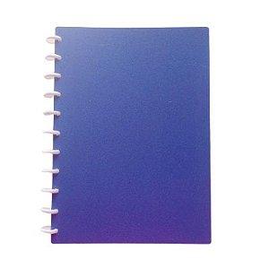 Caderno TopMagic Glitter Púrpura Universitário