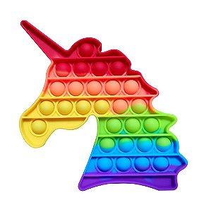 Pop it Fidget Unicórnio Rainbow