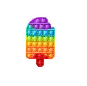 Pop It Fidget Colorful Picolé