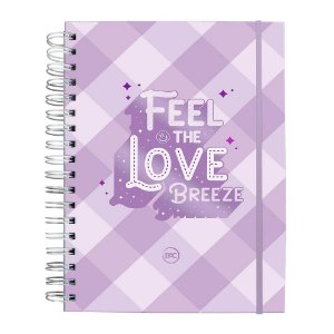 Caderno Smart Colegial com Folhas Reposicionáveis DAC Breeze