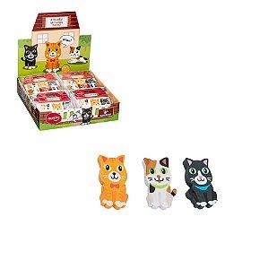 Borracha Animal Planet Cats Bl. 3 unidades Molin