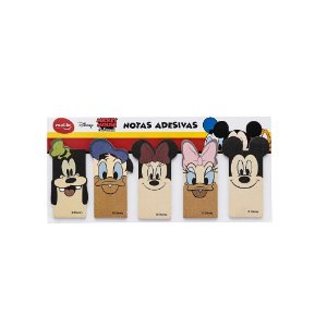 Bloco de Notas Adesivos Mickey e Amigos Molin