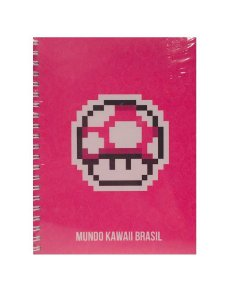 Caderno Cogumelo GrowUp 200 folhas