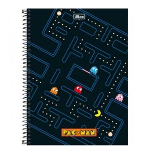 Caderno Pac Man Game 96 folhas