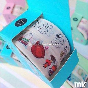 Masking Tape Coleção Kawaii