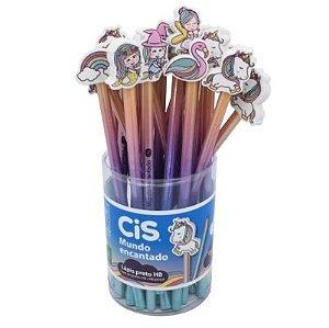 Lápis HB CIS Mundo Encantado 10 un