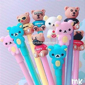 Kit Canetas Sortidas Ursos 10 un