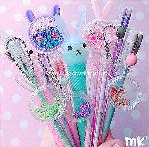 Kit Canetas Sortidas Bunny 10 un