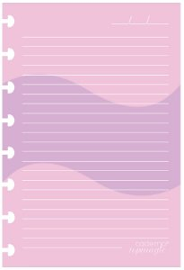 Refil Folha Clorida Pautada Branca TopMagic A5