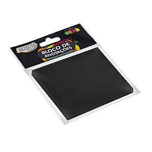 Bloco Smart Note 76x76 Preto 50 fls 4 un