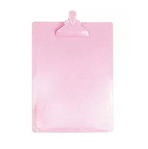 Prancheta Serena Ofício Rosa Pastel Dello