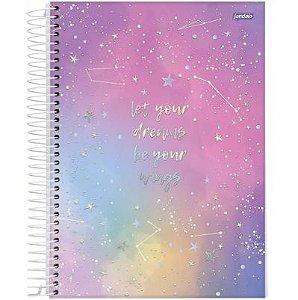 Caderno Universitário Mystic 01 Matéria 80 folhas 4 un