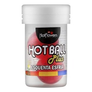 HOT BALL PLUS ESQUENTA ESFRIA - HOT FLOWERS