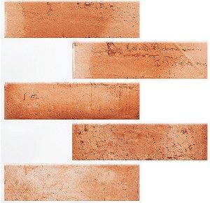 Revestimento Autoadesivo Resinado - Subway Brick Tiles