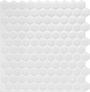 Revestimento Autoadesivo Resinado - BEE White