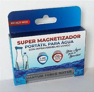 Magnetizador Portátil de Água Quantum Force Water