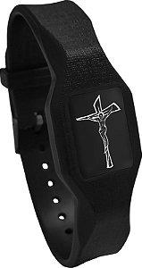 Pulseira Magnética - Jesus Crucificado