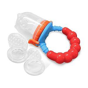 Alimentador De Frutas Para Bebê Com 3 Bicos Comtac Kids 4124