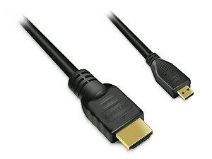Cabo HDMI / Micro HDMI - Versão 1.3a - 1.8 metro - COMTAC - 9211