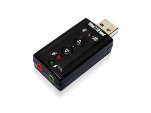 Conversor USB 2.0 som virtual 7.1 - COMTAC - 9081
