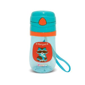 Copo Tritan Let s GO - Guaxinim Morgan 350 ml BPA - Free Comtac Kids (54114166)