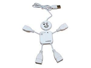 Hub Boy USB 2.0 - 4 portas - COMTAC - 9165