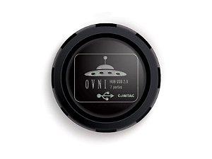 Hub USB 2.0 OVNI - 7 portas - COMTAC - 9184