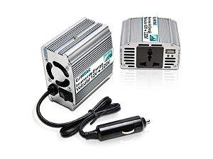 Inversor de energia veicular 12V para 220V -> 150W - COMTAC - 9083