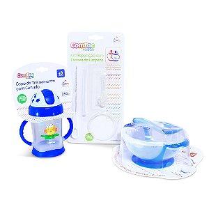 Kit Alimentação Bebê 3 - Comtac Kids (54189522)