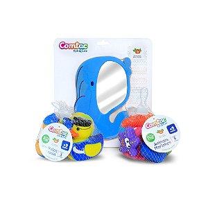 Kit Briquedos de Banho 2 - Comtac Kids