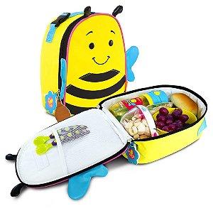 Lancheira Termica Infantil Let s Go - Abelhinha - Bella - Comtac Kids - 52104038