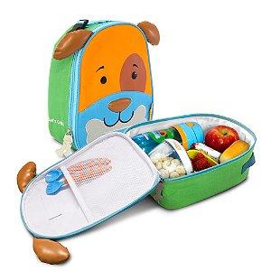 Lancheira Térmica Infantil Let's Go! Cachorro - Dylan - Comtac Kids -52104044