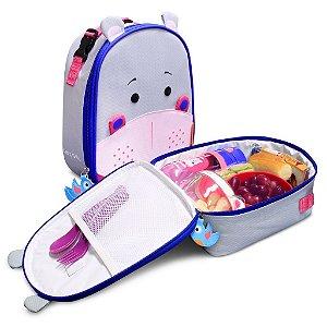 Lancheira Termica Infantil Let s Go - Hippo - Frida   - Comtac Kids - 4162
