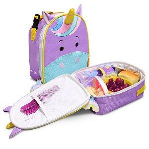 Lancheira Termica Infantil Let s Go - Violet  - Comtac Kids - 4164