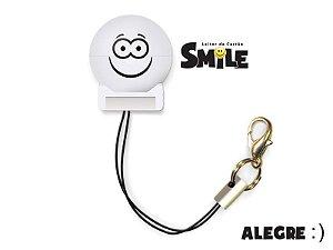 Leitor de Cartão - Smile - Alegre - Cor Branco - COMTAC - 9203