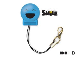 Leitor de Cartão Smile - KKK - Cor Azul - COMTAC - 9205
