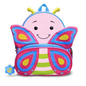 Mochila Infantil Lets Go Borboleta Cindy 4041