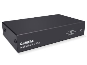 Multiplicador de Video VGA - 2 Saidas - COMTAC - 9216