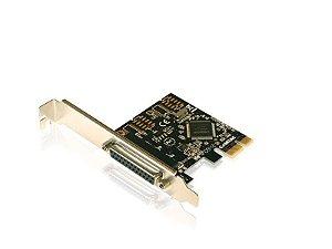Placa PCI Express - 1 porta paralela - COMTAC - 9048