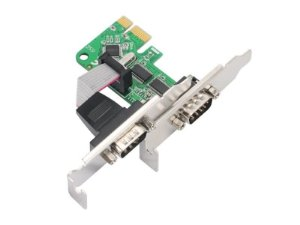 Placa PCI Express Low Profile - 2 Portas Seriais - COMTAC - 9348