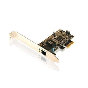 Placa PCI Express X1 de Rede Gigabit RJ45 Comtac 9100