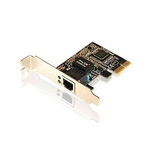 Placa PCI Express X1 de Rede Gigabit Low Profile Comtac 9208